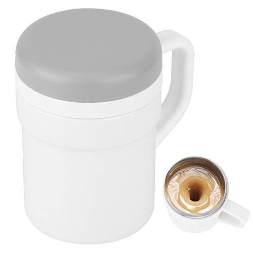iFCOW Tazza di miscelazione del caffè, Elettrica Automatica di Caffè Latte di Miscelazione Tazza di Raffreddamento Auto Mescolante Smart Milk Cup Casa