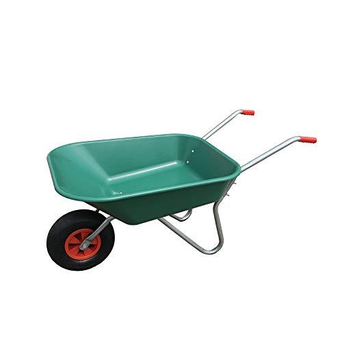 HTI-Line Schubkarre Havel 65 Gartenschubkarre Mehrzweckkarre Muldenkarre Bauschubkarre Einradkarre Mistkarre Transportkarre Pferdemist