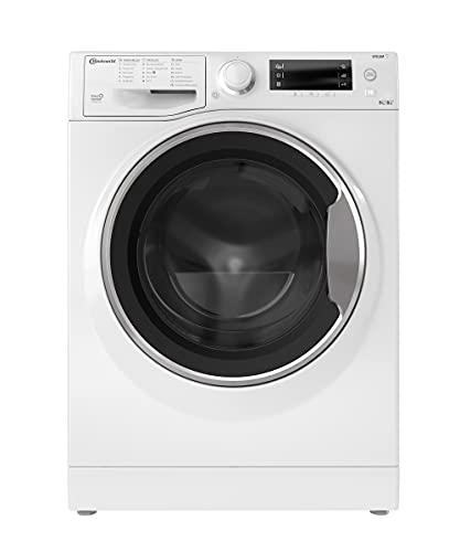 Bauknecht WATK Sense 96L6 DE N Waschtrockner / 9/6kg Waschen/Trocknen / Flecken 40° / Dampf-Programm / Dynamic Inverter-Motor / Wolle-Programm / Nachlegefunktion / Kurzprogramm 45 Min