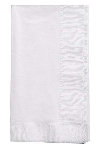 Bell Marque White Dinner Napkin300 2Ply White Dinner Napkins 01quot Height 17quot width 15quot Length Pack of 300