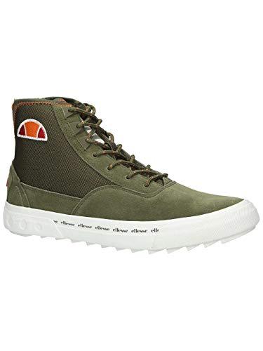 Ellesse Sneaker Herren ZANICA HI SUED AM 6-10382 GRN ORG, Schuhgröße:43