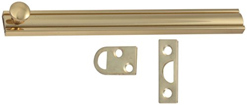 Stanley Hardware S804-040 CD4060 Solid Brass Surface Bolt in Bright Brass