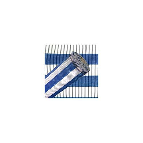 Malla DE SOMBREO Azul Y Blanca 2 X 100 Metros
