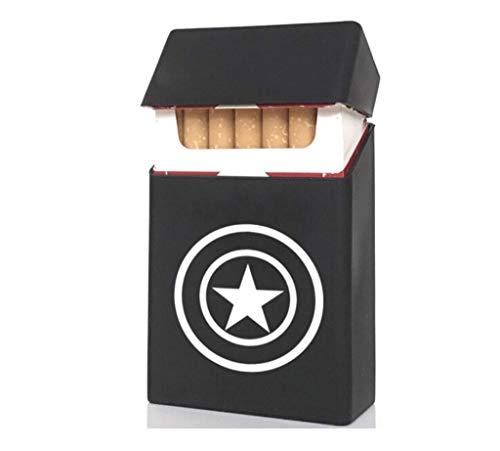 Funda para encendedor de cigarrillos de color negro