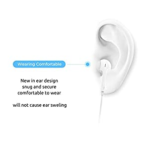 Wireless earbuds, Bluetooth 4.1 stereo earbuds, compatible with most smartphones, earbuds for calling, leisure, fitness listening