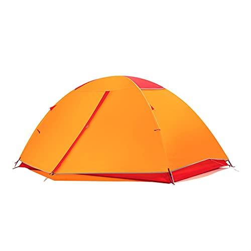 Tienda de sombra Tienda de campaña para acampar al aire libre Pliegos Luz y fácil de transportar 3-4 personas SPEED ABIERTE APERTURA AUTOMÁTICA DOBLE FAMILIA A prueba de agua Equipo de campamento auto