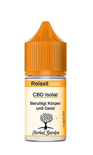 CBD E Liquid Isolat - 1000mg 10ml - 10%...