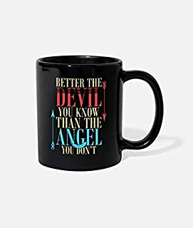 Better The Devil You Know Than The Angle keramisk 325 ml mugg