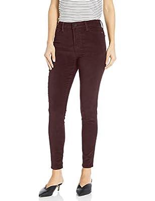 Sanctuary Women's Social Standard High Rise Skinny Jean, Amethyst Velvet, 32