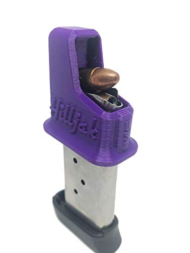 Magazine Speed Loader Designed to fit Sig P210, P938 P239; Ruger LC9 LC9S EC9; Walther PPS CCP; Kahr K820 K920 CM9; Taurus G2S PT 709; Hi-Point C9 CF380 995; Keltec PF-9 QL9SS Purple