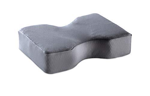 Sanapur Kopfkissenbezug Grau 100% Baumwolle exklusiv Original Kissen - Bettwäsche