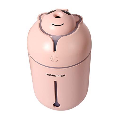 SUNHAO Humidificateur Mini-pulvérisateur de Voiture Portable à la Maison USB Mute Air Purifie