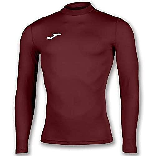 Joma Academy Camiseta Termica, Hombres, Burdeos, L-XL