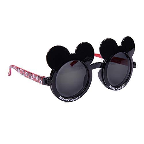 CERDÁ LIFE'S LITTLE MOMENTS Gafas de Sol 3D Mickey Mouse-Licencia Oficial Disney, Negro, Talla única-Especialmente diseñadas para una adaptación Perfecta para Niños