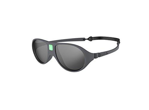 Ki Et La Ki ET LA - Babysonnenbrille im Stil Jokala - 100% unzerbrechlich - Grau - 2-4 Jahre