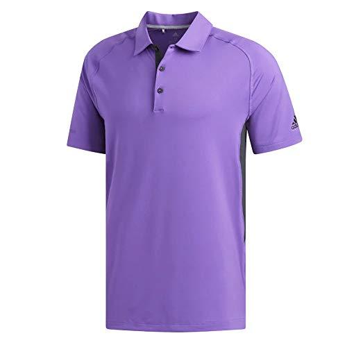 adidas Ultimate Climacool - Polo para Hombre, Hombre, Polo, TM1424S9, Púrpura Activo/Carbono, L