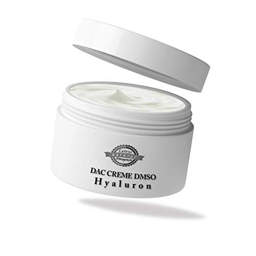 Crema de ácido hialurónico DMSO de Leivys con sulfóxido de dimetilsulfóxido 99,9%, aplicación cómoda, efecto efectivo 2 x 50 ml