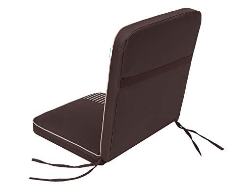 Cojín para silla Bankok para banco de jardín