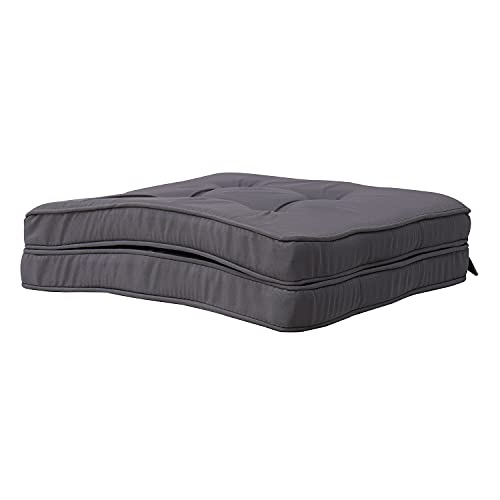 RACE LEAF - Set di 2 cuscini per sedie da cucina, in cotone, con cinghie per casa, ufficio, auto,...