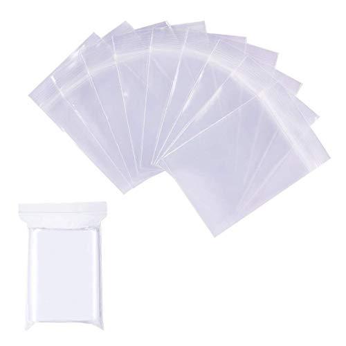 チャック付き 小分け袋 200枚入れ 密封保存袋 プラスチック袋 無地タイプ OPP袋 アクセサリーパーツ デコパーツ キャンディー お菓子 小物入れ クリア 15*10cm