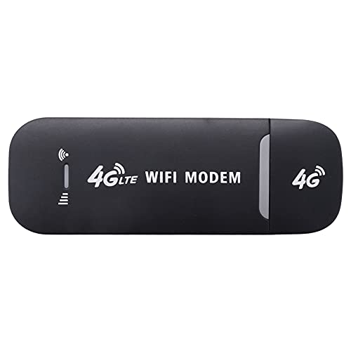 Grevis 4G USB Modem WiFi Router USB Dongle 150 Mbit/s mit SIM Karten Steckplatz Auto Kabellos Hotspot Pocket Mobile WiFi