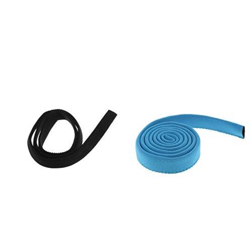 sharprepublic 2pcs 36 Pulgadas Paquete de Hidratación Al Aire Libre Cubierta de Manga de Manguera de Tubo de Vejiga de Agua
