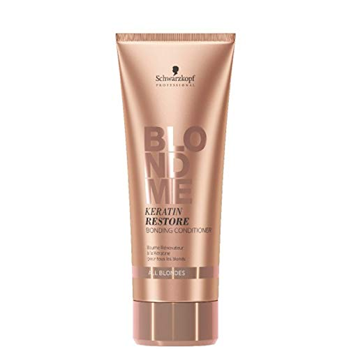 Schwarzkopf Professional BlondMe Keratin Restore Conditioner, 1er Pack (1 x 200 ml)