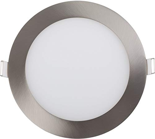LED PANEL 21W RUND SATIN NICKEL EINSTELLBAR