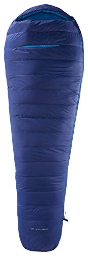 YETI Tension Mummy 300 bis Körpergröße Schlafsack 205cm (Gr.XL) cm royal Blue/Methyl Blue, Reißverschluss Schlafsack Links