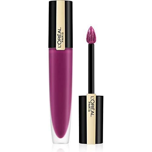 L'Oréal Paris Rouge Signature 104 I Rebel, ultra-leichter und hochpigmentierter matter Ink-Lippenstift