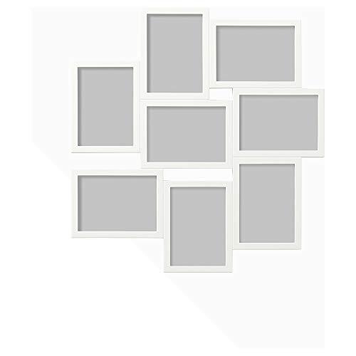 IKEA.. 402.566.21 Växbo - Marco para 8 Fotos, Color Blanco