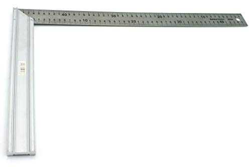 Escuadra plana de aluminio 500 mm - Helmut Müller (500 mm)