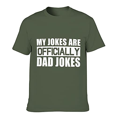 My Jokes are Official Dad Jokes - Camiseta vintage para hombre