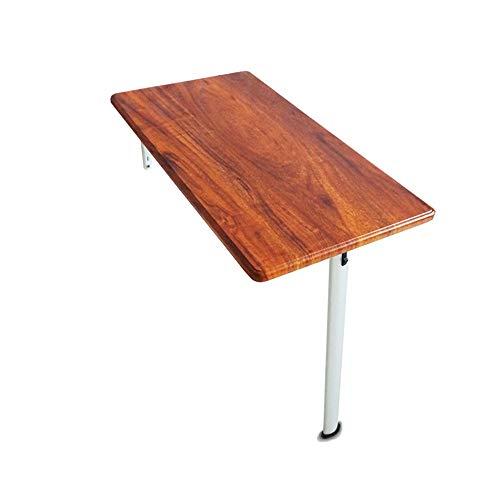 Tables HAIZHEN Pliable La de Bar Se Pliante, la de Mur, la à Manger apprenant Le Bureau d'ordinateur 74 * 30 * 74cm, 74 * 40 * 74cm Stations de Travail informatiques
