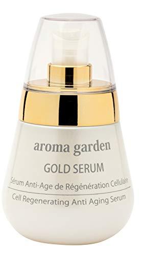 24k Gold Serum - 100% natürliches & veganes Anti Aging Serum Gesicht mit 24 karätigem Gold & Hyaluronsäure für weiche & geschmeidige Haut - Sofortiger Lifting-Effekt + intensive Pflege 50 ml
