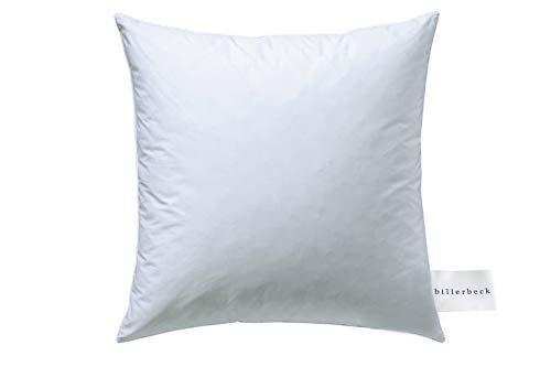 Billerbeck Soft-Down 15 Kopfkissen, Baumwolle, weiß, 80x80