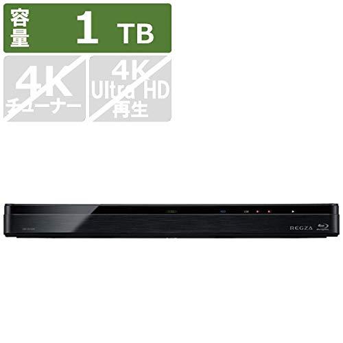 東芝 ブルーレイディスクレコーダー 時短 レグザブルーレイ 1TB HDD内蔵 2番組同時録画 4K対応 DBR-W1009