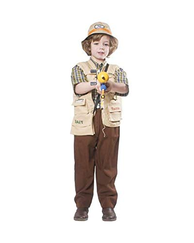 Dress Up America Disfraz de Pescador de niños