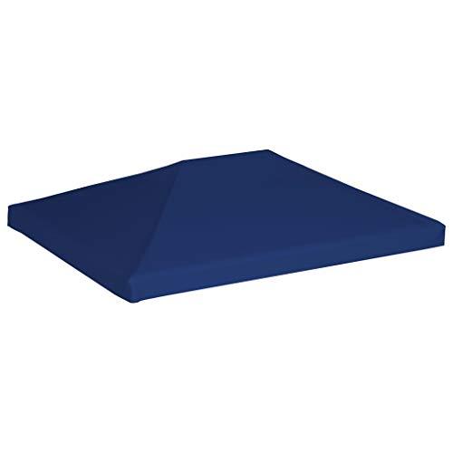 Tidyard Prieeldak Tuin Gazebo Waterdichte bruiloftstent Feesttent 4x3 m 310 g/m² blauw