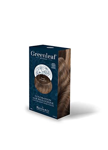 Greenleaf Coloration 100% Biologique 100 g - Deep Chestnut