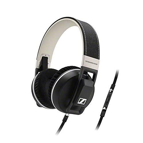 Sennheiser URBANITE - Auriculares de diadema cerrados (compatible iPhone/iPod/iPad), negro