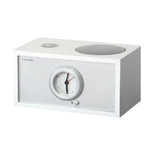 Tivoli Model Dual Stereo-Lautsprecher mit Weck-Funktion f³r Tivoli Model Three Weiss/Silber