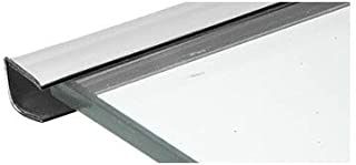 CRL Chrome Plastic Reflective Edge Mold - 96 in Long