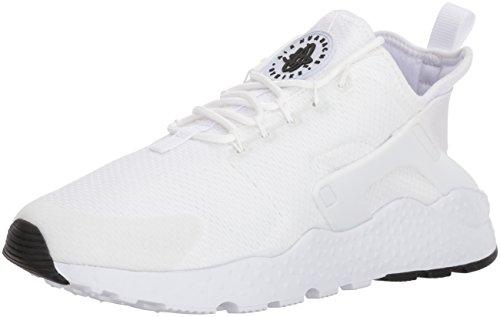 Nike Air Huarache Run Ultra, Scarpe da Ginnastica Basse Donna, Avorio (White/White/White/Black), 37.5 EU