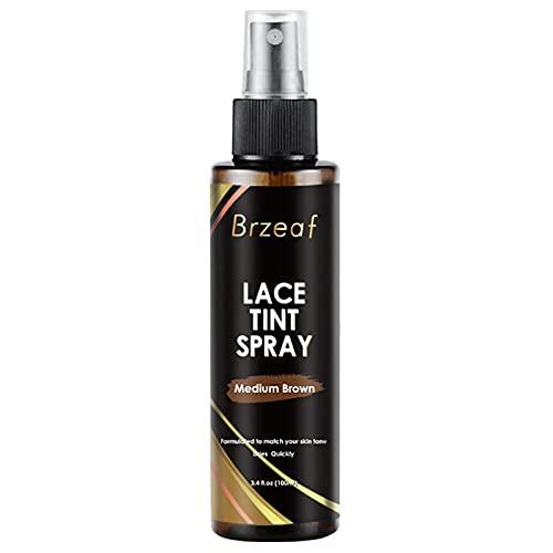 likeitwell Spray de Peluca a Prueba de Humedad 35 oz Professional Todo el día Mantenga la peluquería de Encaje Que se derrite Pegado a la Peluca sintética Spray Spray Pein Spray beautiful