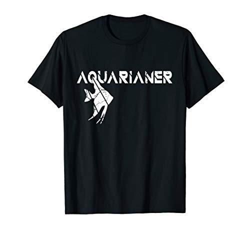Aquarianer Skalar Aquarium Geschenk T-Shirt