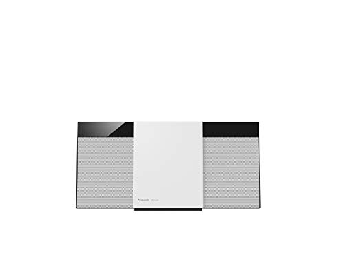 Panasonic SC-HC300 Home Audio Micro System 20W Schwarz, Weiß - Home-Stereoanlagen (Heim-Audio-Mikrosystem, Schwarz, Weiß, 1 Disks, 20 W, 1-Weg, FM)