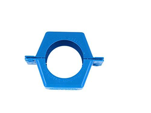 JS Plombierschelle 3/4 Zoll, blau, beschriftet, 2-teilig