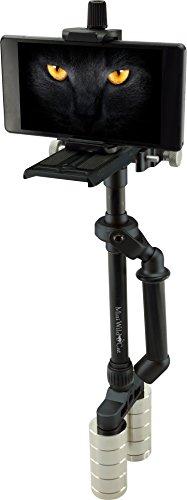 Rollei Mini Wild Cat Stabilizer mit Mini Steadycam Schwebestativ für Kompaktkamera/Actioncam/Smartphone schwarz