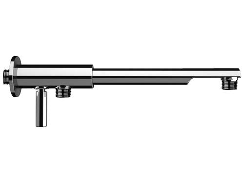 Rubinetterie REMER Braccio Doccia con DEVIATORE cm 30 Design Minimal